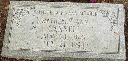 CANNELL, KATHLEEN - Franklin County, Ohio | KATHLEEN CANNELL - Ohio Gravestone Photos