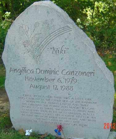 "CANZONERI, ANGELICA DOMINIC  ""NIKI"" - Franklin County, Ohio | ANGELICA DOMINIC  ""NIKI"" CANZONERI - Ohio Gravestone Photos"