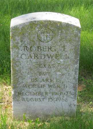 CARDWELL, ROBERT E. - Franklin County, Ohio | ROBERT E. CARDWELL - Ohio Gravestone Photos