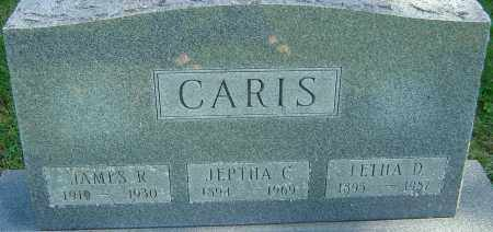 CARIS, JAMES R - Franklin County, Ohio | JAMES R CARIS - Ohio Gravestone Photos