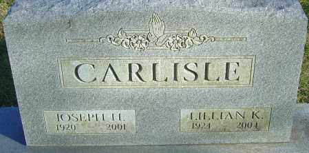 CARLISLE, JOSEPH H - Franklin County, Ohio | JOSEPH H CARLISLE - Ohio Gravestone Photos