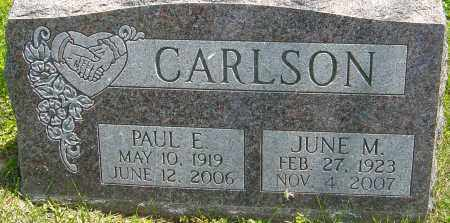 CARLSON, JUNE M - Franklin County, Ohio | JUNE M CARLSON - Ohio Gravestone Photos