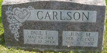 CARLSON, PAUL E - Franklin County, Ohio | PAUL E CARLSON - Ohio Gravestone Photos