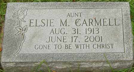 CARMELL, ELSIE - Franklin County, Ohio | ELSIE CARMELL - Ohio Gravestone Photos