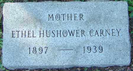 CARNEY, ETHEL HUSHOWER - Franklin County, Ohio | ETHEL HUSHOWER CARNEY - Ohio Gravestone Photos