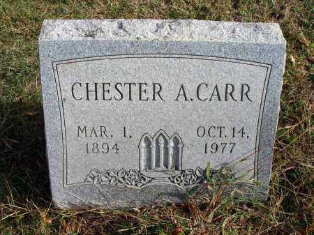 CARR, CHESTER A. - Franklin County, Ohio   CHESTER A. CARR - Ohio Gravestone Photos