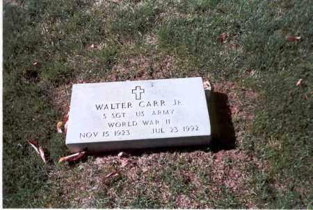 CARR, JR, WALTER - Franklin County, Ohio | WALTER CARR, JR - Ohio Gravestone Photos