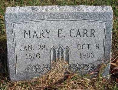 CARR, MARY E. - Franklin County, Ohio | MARY E. CARR - Ohio Gravestone Photos