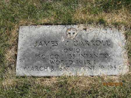 CARROLL, JAMES MICHAEL SR - Franklin County, Ohio | JAMES MICHAEL SR CARROLL - Ohio Gravestone Photos