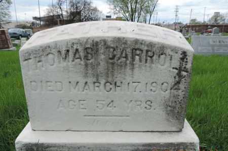 CARROLL, THOMAS - Franklin County, Ohio | THOMAS CARROLL - Ohio Gravestone Photos