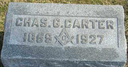 CARTER, CHAS G - Franklin County, Ohio | CHAS G CARTER - Ohio Gravestone Photos