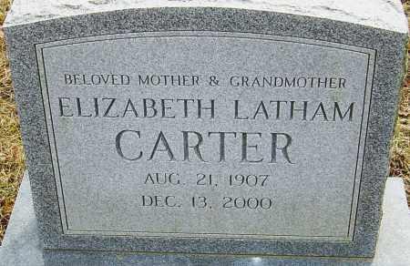 CARTER, ELIZABETH - Franklin County, Ohio | ELIZABETH CARTER - Ohio Gravestone Photos