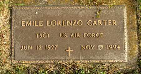 CARTER, EMILE LORENZO - Franklin County, Ohio   EMILE LORENZO CARTER - Ohio Gravestone Photos