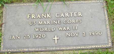 CARTER, FRANK - Franklin County, Ohio   FRANK CARTER - Ohio Gravestone Photos
