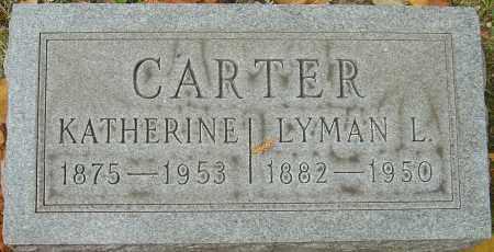 CARTER, LYMAN LEWIS - Franklin County, Ohio | LYMAN LEWIS CARTER - Ohio Gravestone Photos