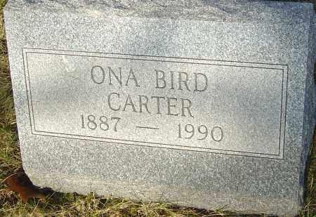 CARTER, ONA - Franklin County, Ohio   ONA CARTER - Ohio Gravestone Photos