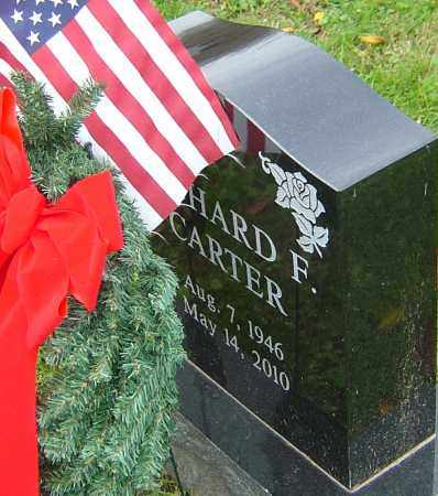 CARTER, RICHARD F - Franklin County, Ohio | RICHARD F CARTER - Ohio Gravestone Photos