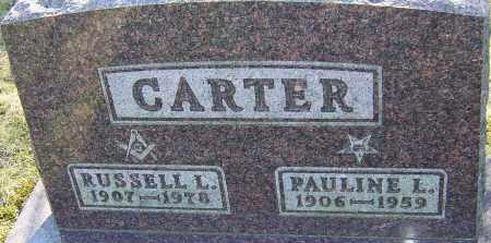 CARTER, PAULINE L - Franklin County, Ohio | PAULINE L CARTER - Ohio Gravestone Photos