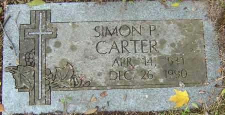 CARTER, SIMON P - Franklin County, Ohio   SIMON P CARTER - Ohio Gravestone Photos