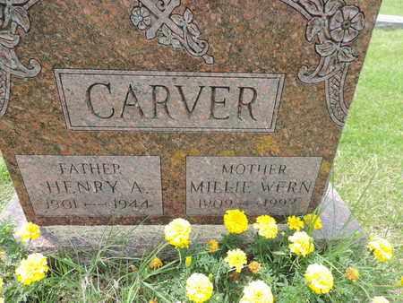CARVER, HENRY A. - Franklin County, Ohio | HENRY A. CARVER - Ohio Gravestone Photos