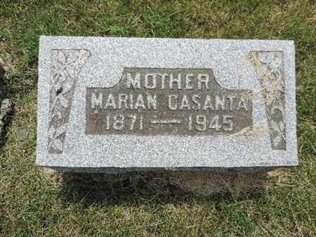 CASANTA, MARIAN - Franklin County, Ohio | MARIAN CASANTA - Ohio Gravestone Photos