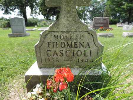 CASCIOLI, FILOMENA - Franklin County, Ohio   FILOMENA CASCIOLI - Ohio Gravestone Photos