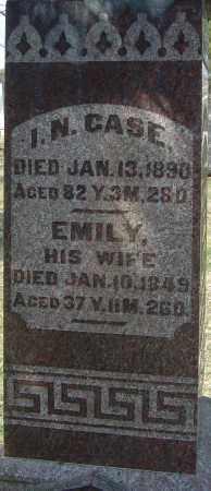 CASE, EMILY - Franklin County, Ohio | EMILY CASE - Ohio Gravestone Photos