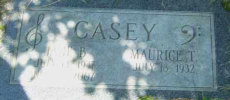 CASEY, JANE B - Franklin County, Ohio | JANE B CASEY - Ohio Gravestone Photos