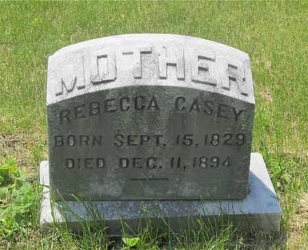 CASEY, REBECCA - Franklin County, Ohio | REBECCA CASEY - Ohio Gravestone Photos