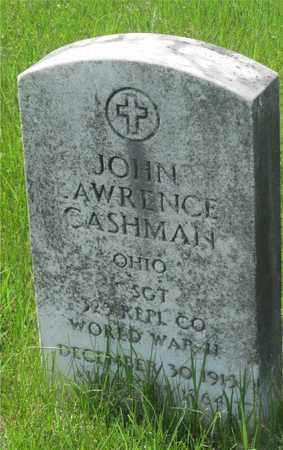 CASHMAN, JOHN LAWRENCE - Franklin County, Ohio | JOHN LAWRENCE CASHMAN - Ohio Gravestone Photos