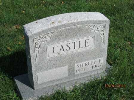 CASTLE, SHIRLEY E - Franklin County, Ohio | SHIRLEY E CASTLE - Ohio Gravestone Photos