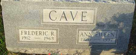 CAVE, ANN - Franklin County, Ohio | ANN CAVE - Ohio Gravestone Photos