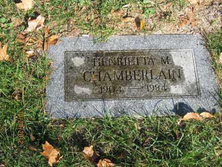 CHAMBERLAIN, HENRIETTA MORTON - Franklin County, Ohio | HENRIETTA MORTON CHAMBERLAIN - Ohio Gravestone Photos