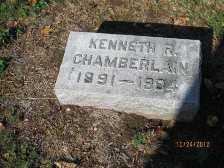 CHAMBERLAIN, KENNETH R - Franklin County, Ohio   KENNETH R CHAMBERLAIN - Ohio Gravestone Photos