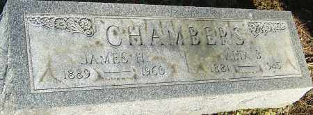 CHAMBERS, JAMES H - Franklin County, Ohio | JAMES H CHAMBERS - Ohio Gravestone Photos