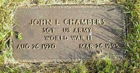 CHAMBERS, JOHN L. - Franklin County, Ohio | JOHN L. CHAMBERS - Ohio Gravestone Photos