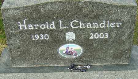 CHANDLER, HAROLD - Franklin County, Ohio | HAROLD CHANDLER - Ohio Gravestone Photos