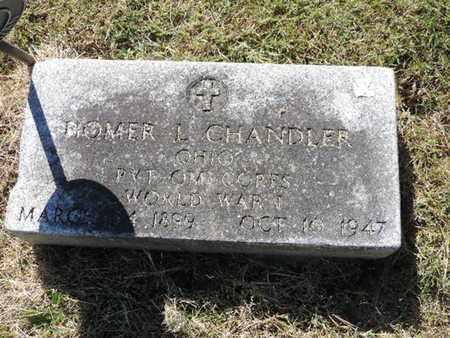 CHANDLER, HOMER L. - Franklin County, Ohio   HOMER L. CHANDLER - Ohio Gravestone Photos