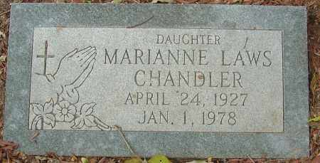 LAWS CHANDLER, MARIANNE - Franklin County, Ohio | MARIANNE LAWS CHANDLER - Ohio Gravestone Photos
