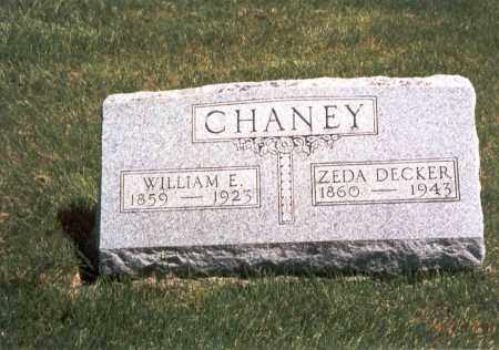 DECKER CHANEY, ZEDA - Franklin County, Ohio | ZEDA DECKER CHANEY - Ohio Gravestone Photos