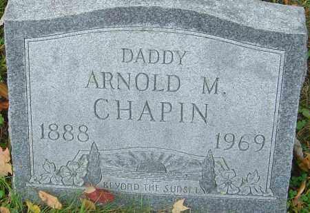 CHAPIN, ARNOLD M - Franklin County, Ohio | ARNOLD M CHAPIN - Ohio Gravestone Photos