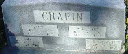 CHAPIN, LEROY - Franklin County, Ohio | LEROY CHAPIN - Ohio Gravestone Photos