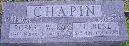 CHAPIN, J IRENE - Franklin County, Ohio | J IRENE CHAPIN - Ohio Gravestone Photos