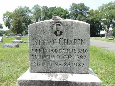CHAPIN, STEVE - Franklin County, Ohio | STEVE CHAPIN - Ohio Gravestone Photos