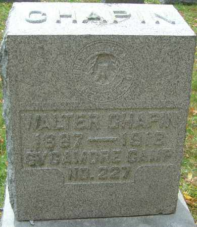 CHAPIN, WALTER - Franklin County, Ohio | WALTER CHAPIN - Ohio Gravestone Photos