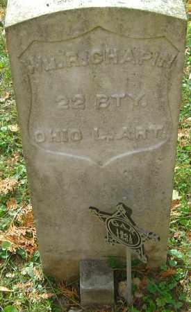 CHAPIN, WILLIAM RILEY - Franklin County, Ohio | WILLIAM RILEY CHAPIN - Ohio Gravestone Photos