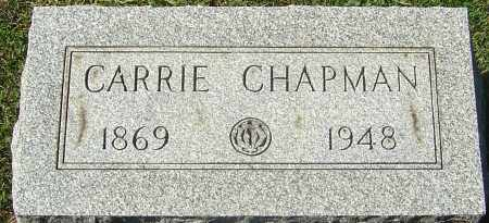 CHAPMAN, CARRIE SOPHRONIA - Franklin County, Ohio | CARRIE SOPHRONIA CHAPMAN - Ohio Gravestone Photos