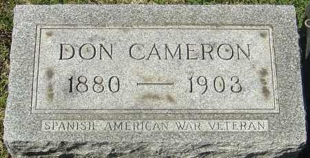 CHAPMAN, DON CAMERON - Franklin County, Ohio | DON CAMERON CHAPMAN - Ohio Gravestone Photos