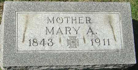 RUMER CHAPMAN, MARY ANN - Franklin County, Ohio   MARY ANN RUMER CHAPMAN - Ohio Gravestone Photos