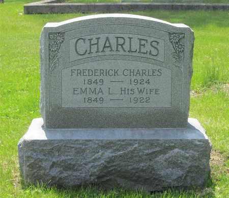 CHARLES, FREDERICK - Franklin County, Ohio | FREDERICK CHARLES - Ohio Gravestone Photos